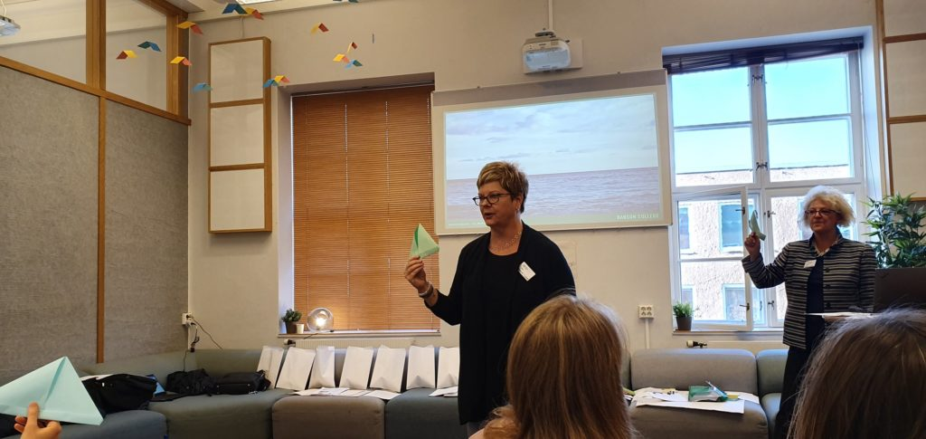 Heidi Neck and Candida Brush illustrating how educators can integrate creative play and games as part of teaching entrepreneurial mindset