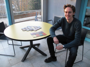 Nicolay Anker Kavli has created the board game Thief Trackers.