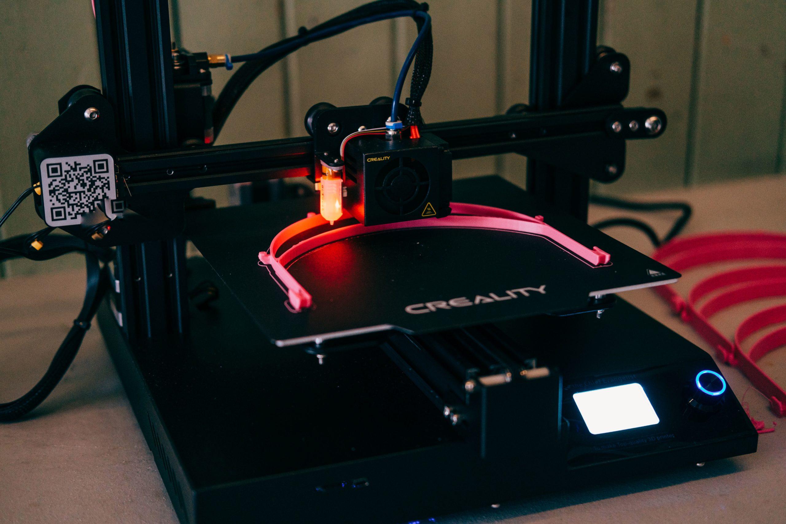 3D-printing of facial visors